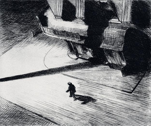 217. Night Shadows - 1921 - Collezione privata