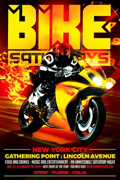 bike night flyer template httpxtremeflyerscombike night