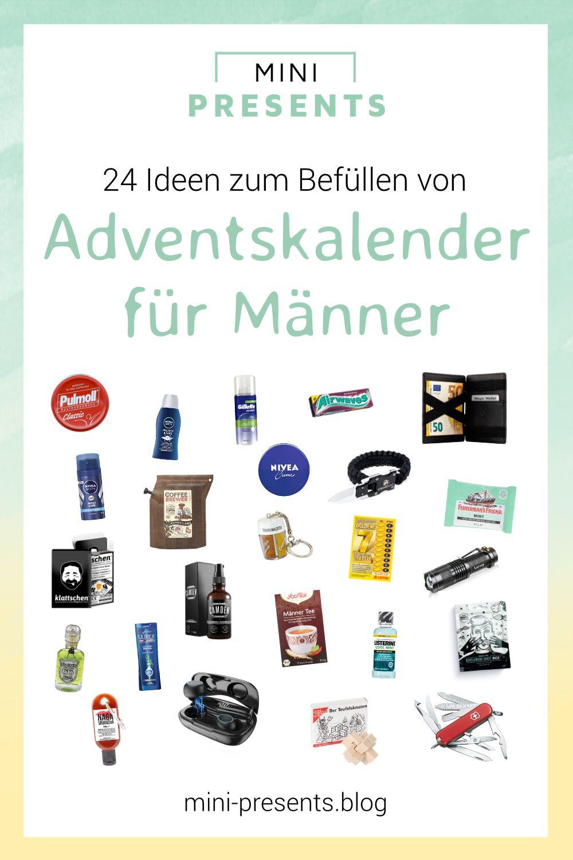 DIY Adventskalender für Männer basteln (mit Bildern