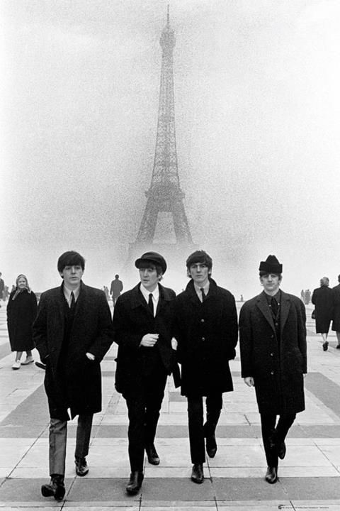 The Beatles © Terence Spencer  Paris, 1964