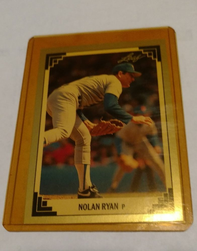 1991 leaf nolan ryan texas rangers 423 baseball card