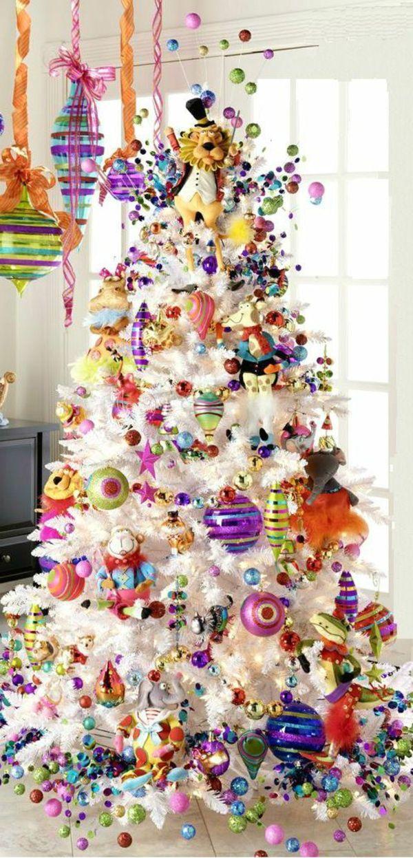 Schon Wunderschöne Ideen Für Weihnachtsbaum Deko!