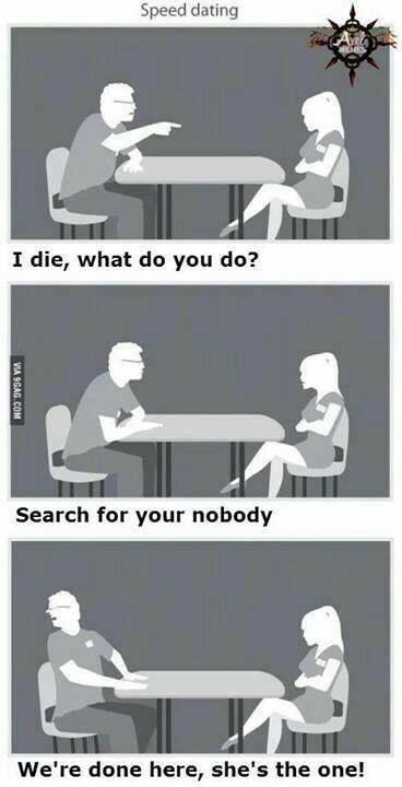 Jeu de speed dating