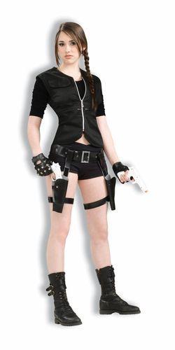 Treasure Huntress Vampire Goth Adult Womens Costume New eBay - womens halloween ideas