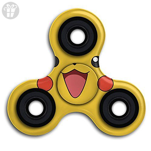 2FUN2TOYS Cute Pikachu Pokemon Best FIDGET Spinner Toy For Relief Anxiety Stress