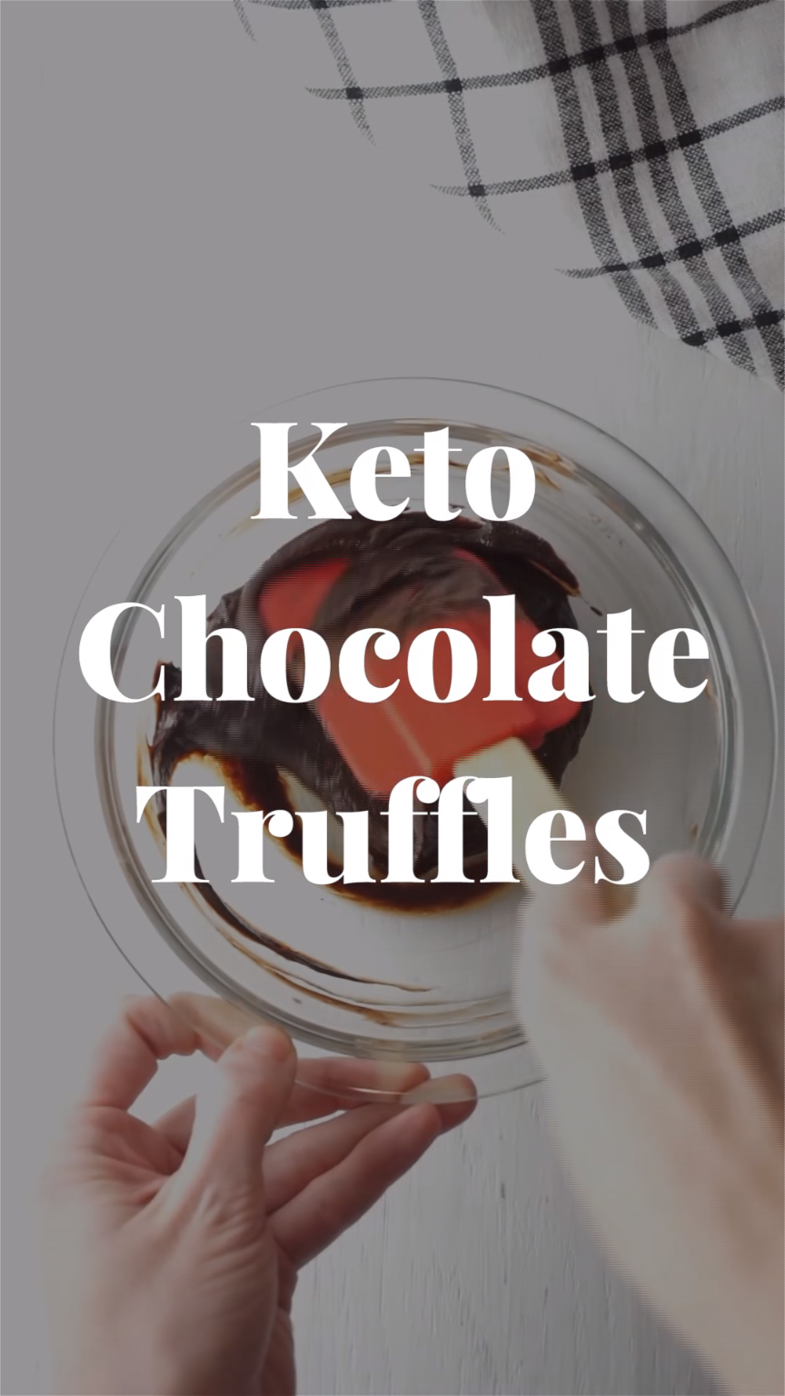 Two Ingredient Keto Truffles