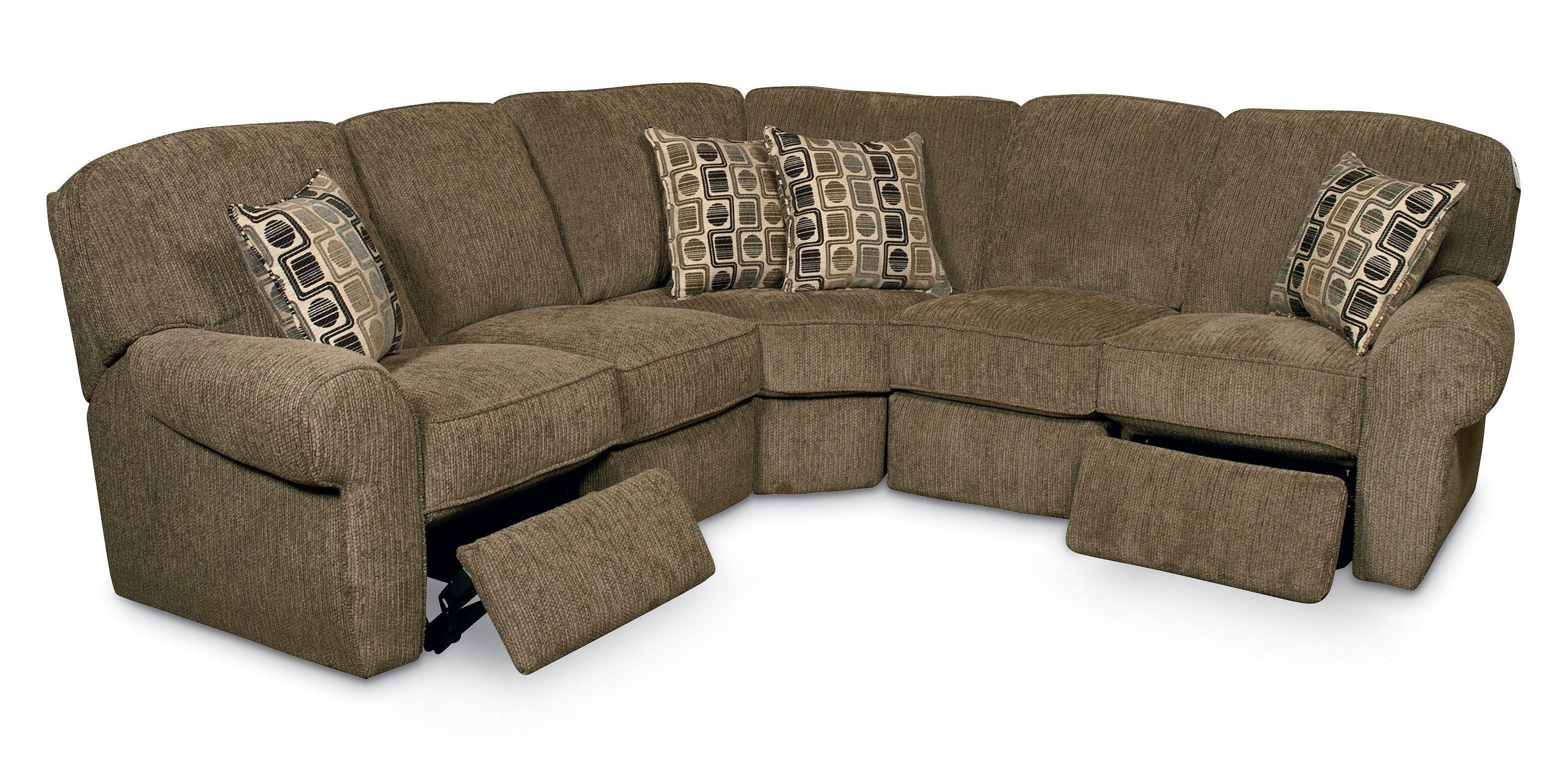 Lane Furniture Megan Collection features 4 piece reclining
