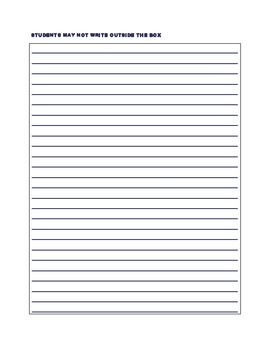 staar lined paper writing pinterest writing lined writing