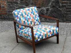 Fotel Fotele W Kratę Prl Lata 60 70 80 Vintage Inne