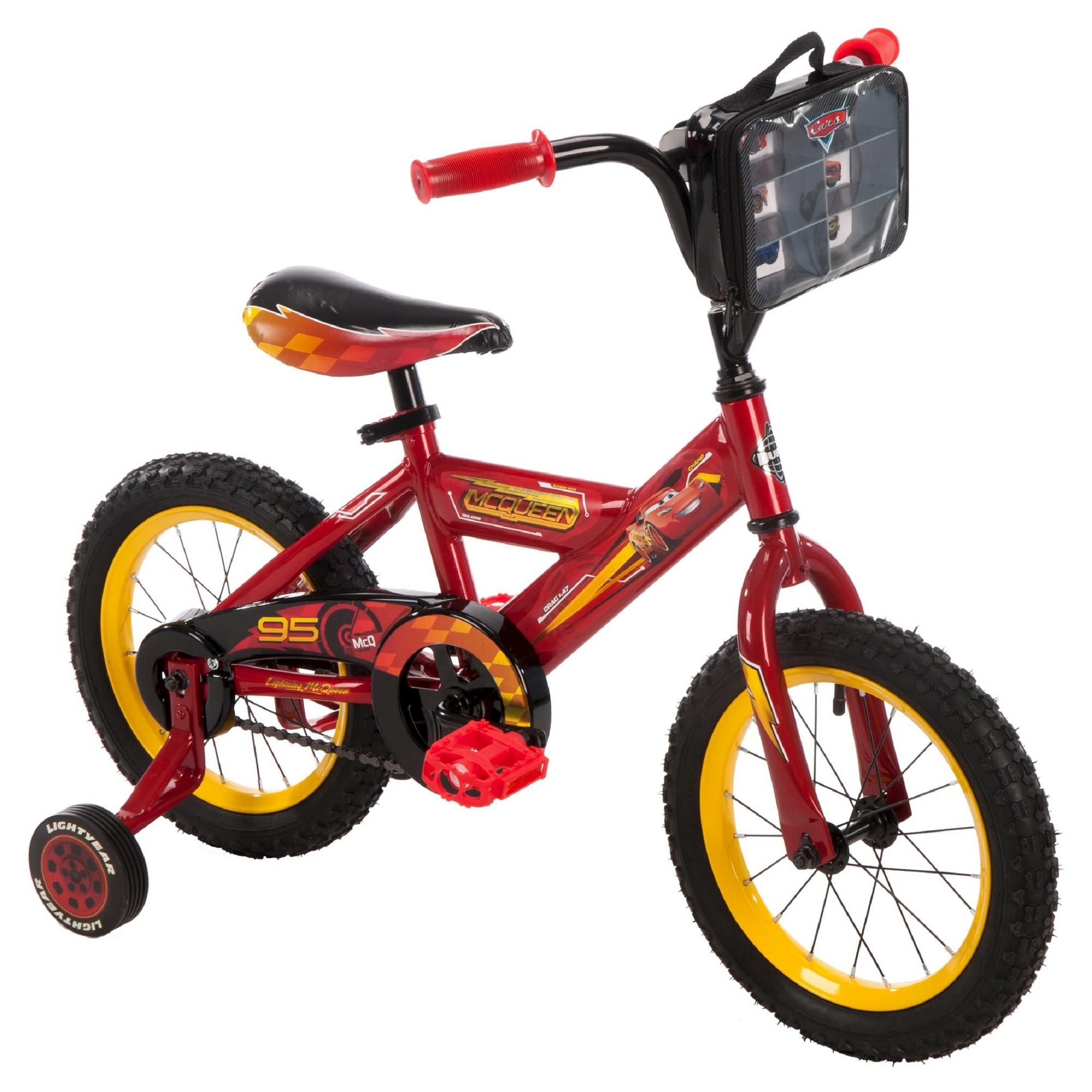 Kids Huffy Disney Cars 3 14 Cruiser Bike Red Custom Bikes Kids Bike Cruiser Bike