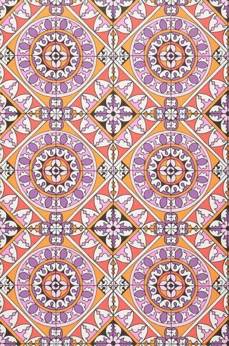 Papier peint pour la salle d 39 eau borromeo papier peint - Papiers peints des annees 70 ...