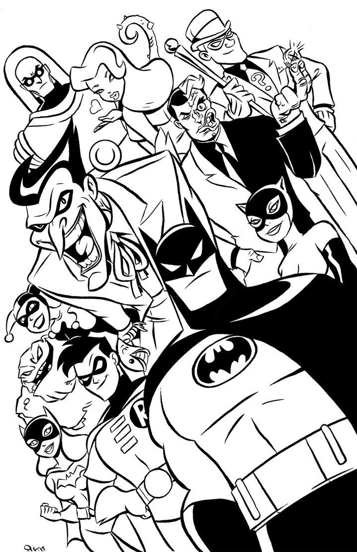 Batman The Animated Series Poster By Scoot By Scootah91 Deviantart