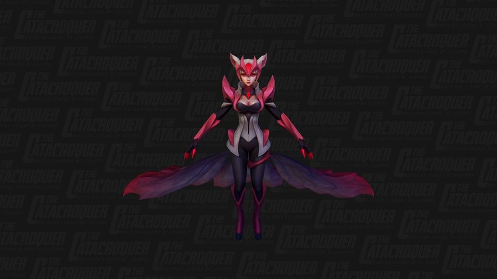Ahri Dauntless by catacroquer - 3D model