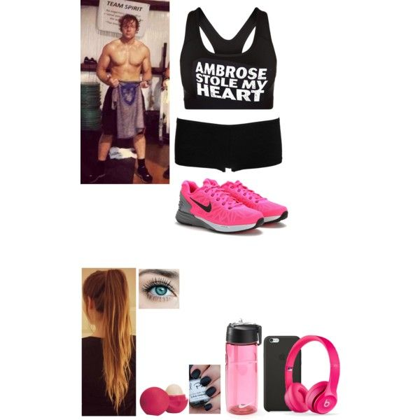 At The Gym With Dean Wwe Outfits Polyvore Outfits Outfits