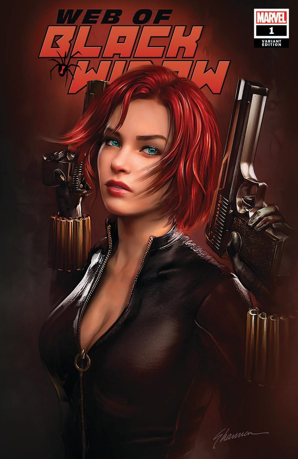 Black Widow by Shannon Maer #comicbooks