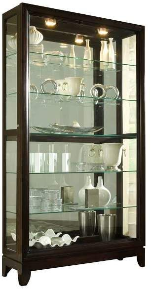 Glass Showcase Designs For Living Room: Pottery Barn Alden Display Cabinet In 2019
