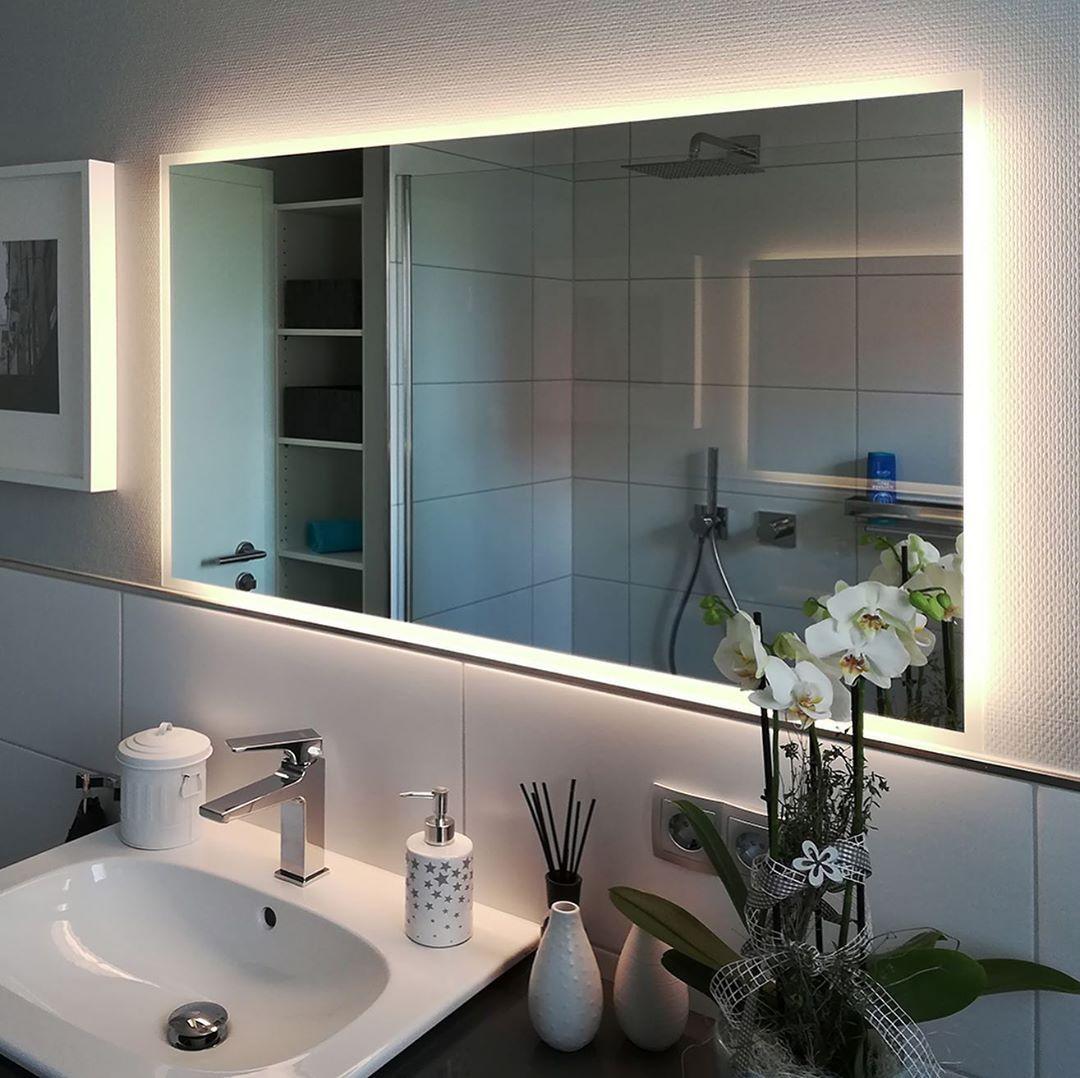 Siena Rundum Design Badspiegel Mit Led Beleuchtung Zum Produkt