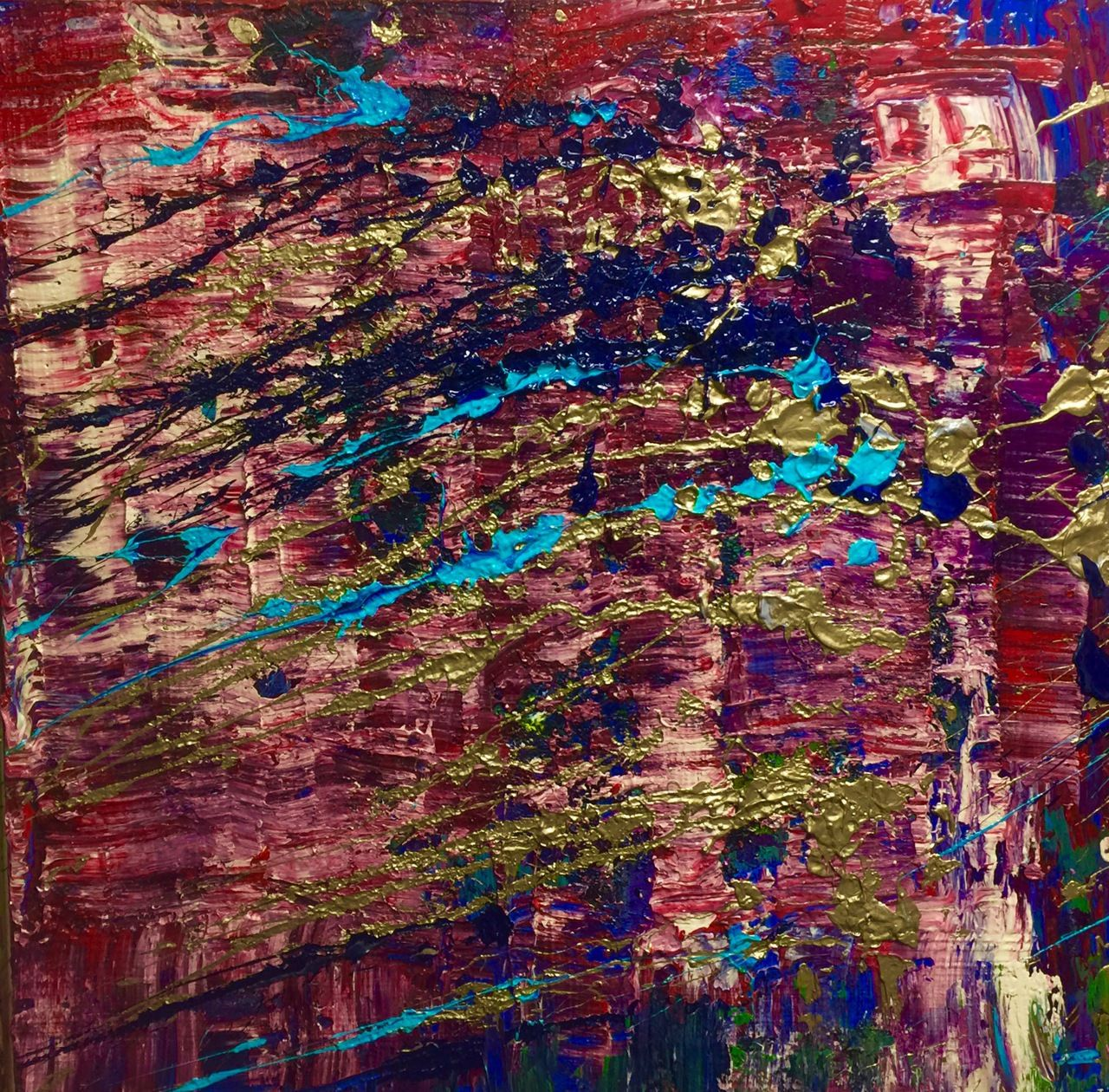 Expression 2: Niam Jain Autism Artist: Abstract Art