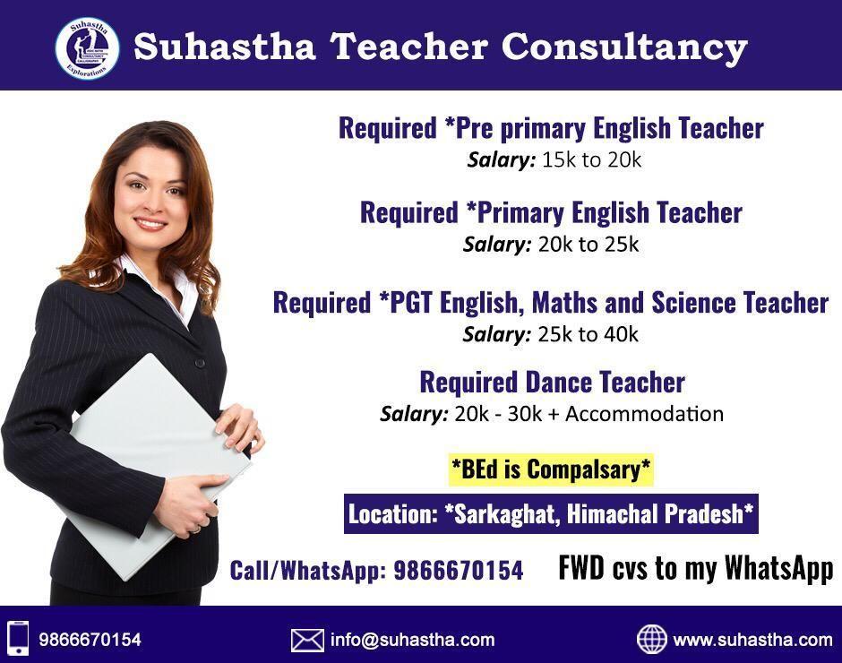 Teachers Consultancy in Hyderabad Teacher recruitment