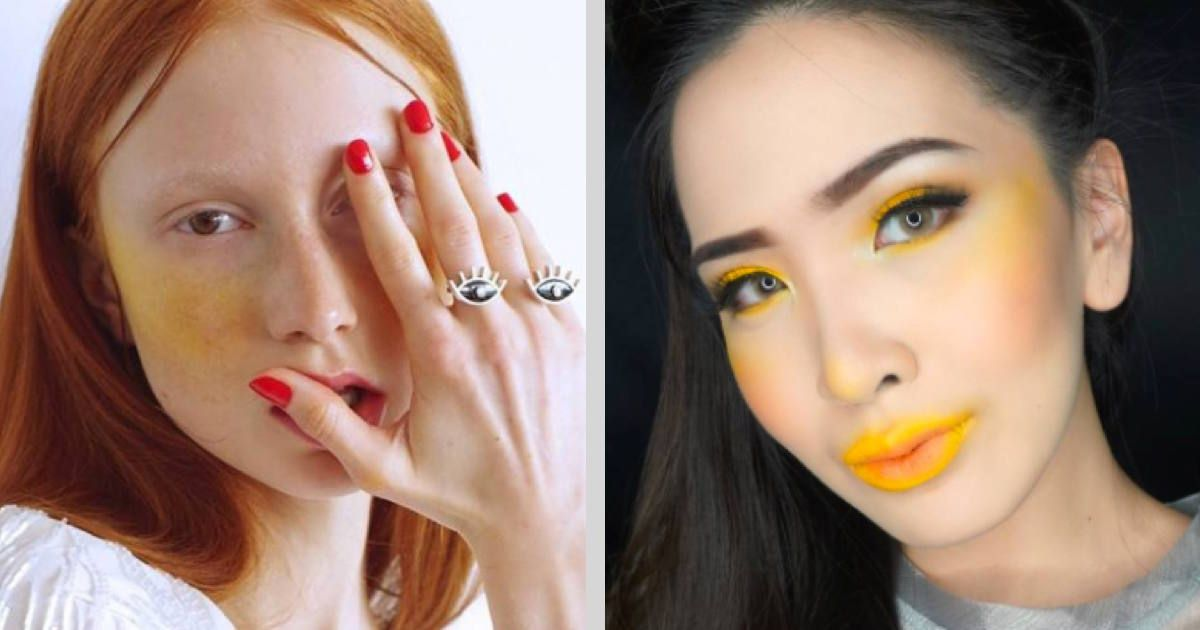 Yellow blush is the latest makeup trend we don\u0027t understand