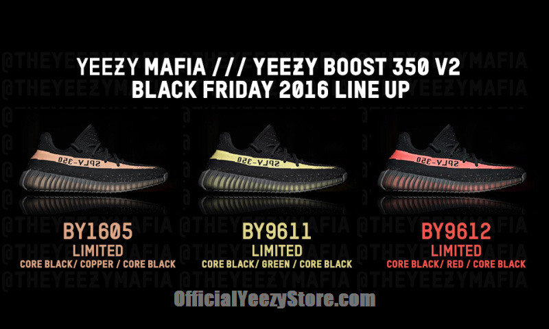 c74478e02a3 Reputable Retailers Confirm 3 adidas YEEZY Boost 350 V2 Colorways Dropping  November 23