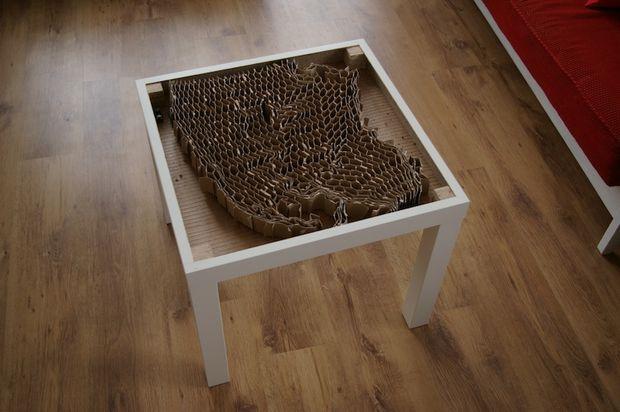 Ikea Lack Plus Light Ikea Lack Ikea Lack Table Lack Coffee Table