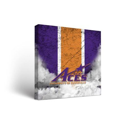 Victory Tailgate NCAA Vintage Design Framed Graphic Art on Wrapped Canvas