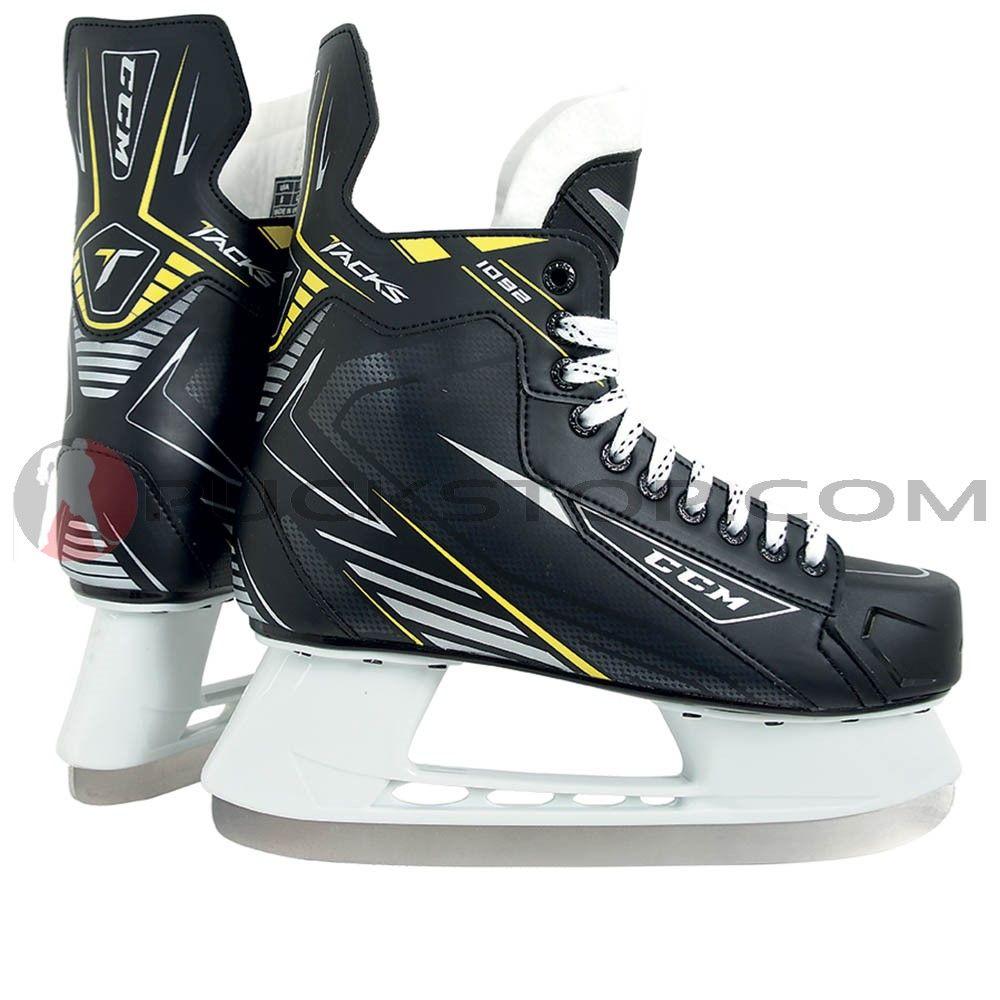 23ed6f8ee51 CCM Tacks 1092 Junior Ice Hockey Skates