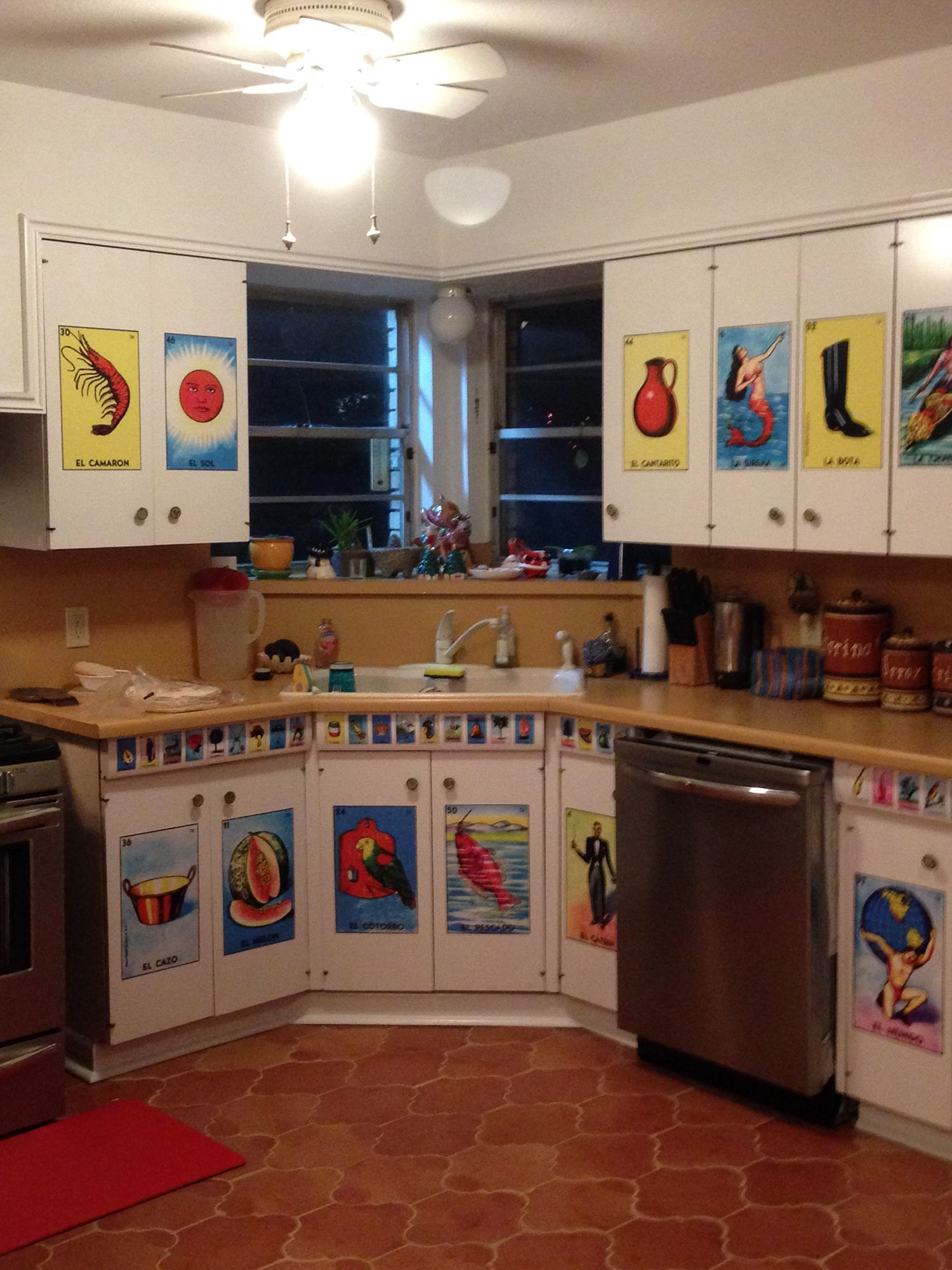 Loteria Kitchen in 2019 | Mexican style decor, Kitchen ...