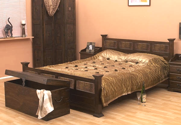 Solid Wood Jaipur Bed | Home Decor & Furnishings | Bed furniture ...