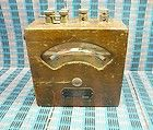 Vintage Weston Model 155 AC Ammeter Rare Multiple Test Leads Antique - Ammeter, ANTIQUE, Leads, Model, MULTIPLE, Rare, Test, Vintage, Weston