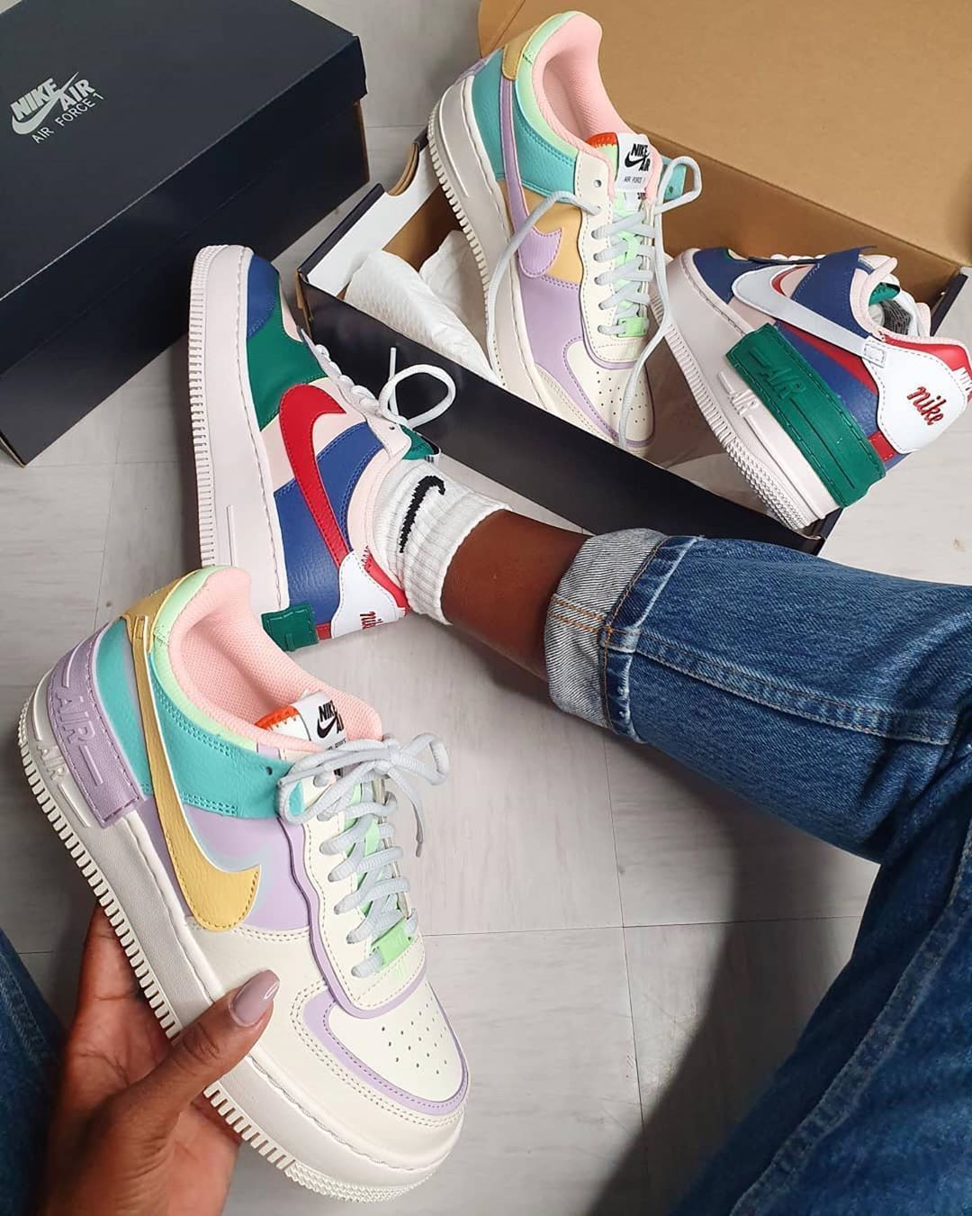 Nike Air Force 1 Shadow White Hydrogen Blue Purple Cw2630 141 Fashion Womens Casual Sneakers In 2020 Casual Shoes Women Casual Shoe Sneakers Nike Fashion Shoes Brand new nike air force 1 vlone friends and family black blue purple size 11. casual shoe sneakers nike fashion shoes