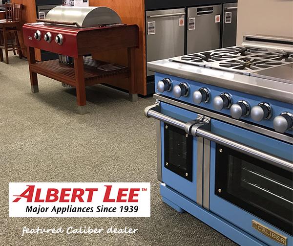 Caliber Announces Albert Lee Appliance as a New Caliber