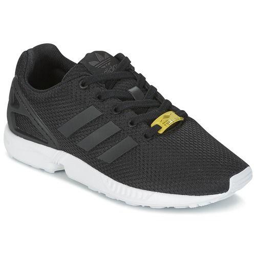 b5401461d adidas Originals ZX FLUX J Black - Δωρεάν Αποστολή στο Spartoo.gr ! -  Παπούτσια