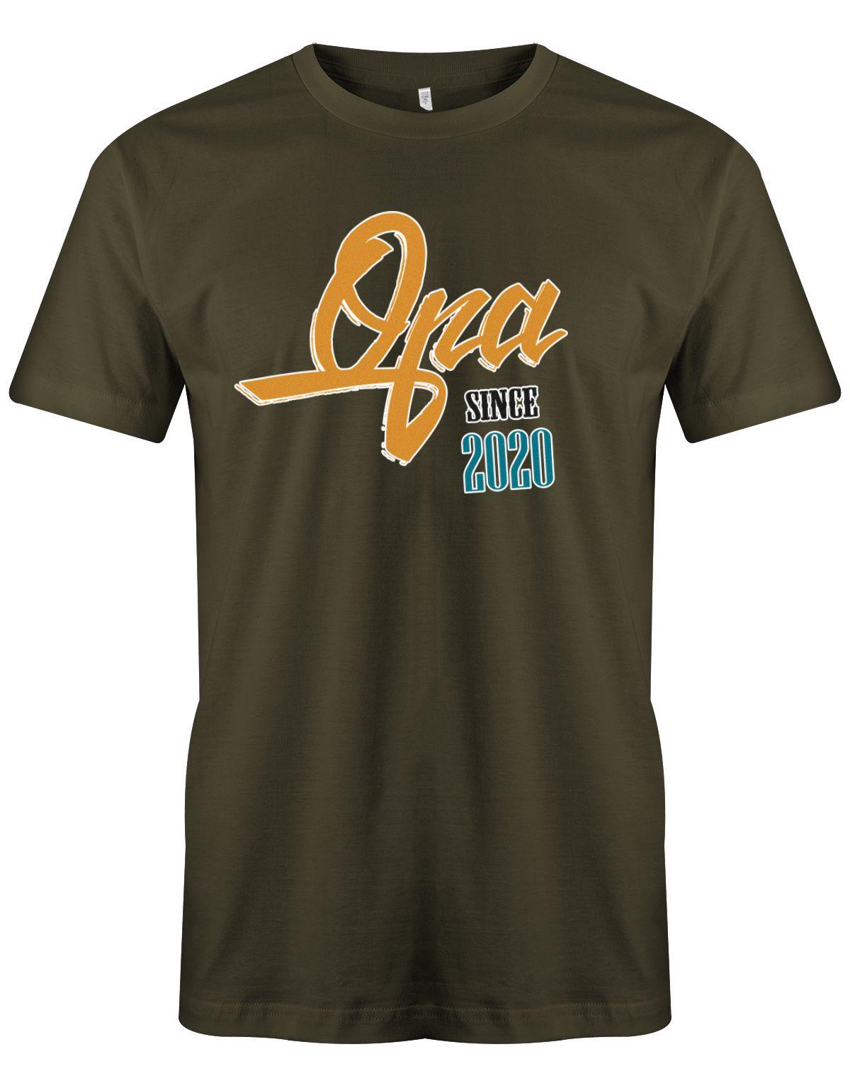 Geschenkidee Fur Einen Tollen Opa Wunschjahr T Shirt Shirts Geschenkideen