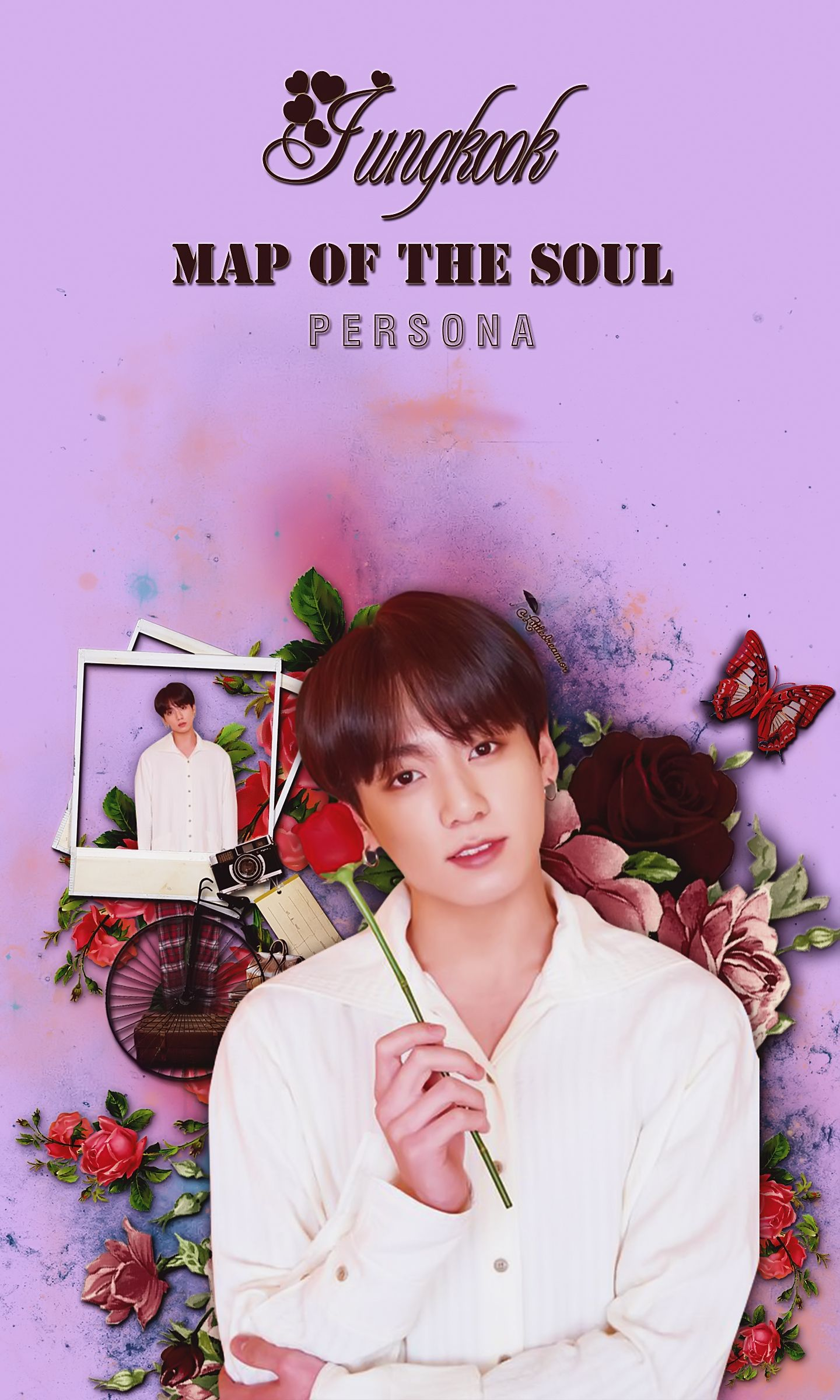 Persona Mapofthesoul Army Bts Edit Jungkook Kpop
