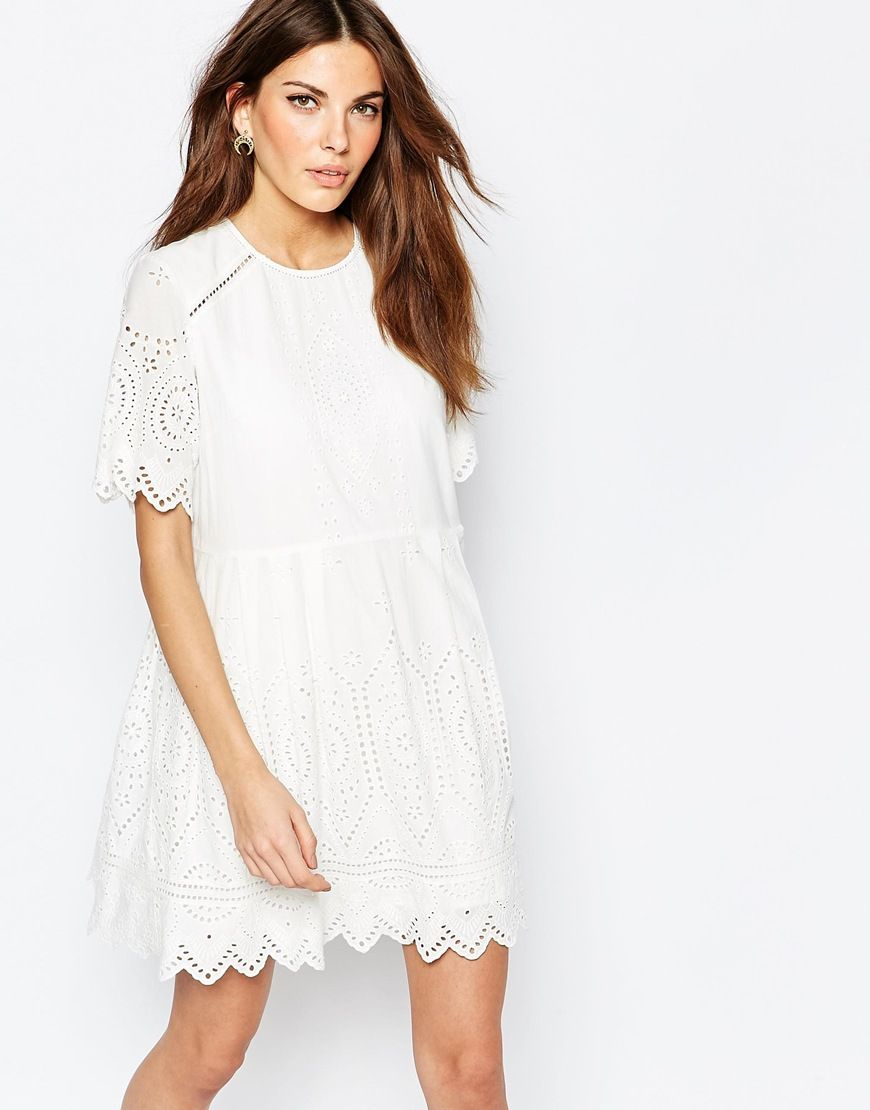 Image 1 of French Connection Josephine Emboidered Dress | product ...