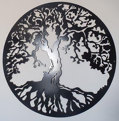Tree of Life Metal Art, Black, Wall Decor | Home & Garden, Home ...