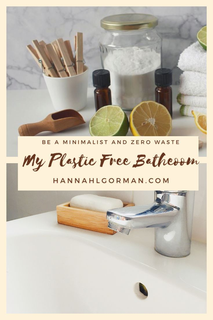 how to create a minimalist bathroom with low impact