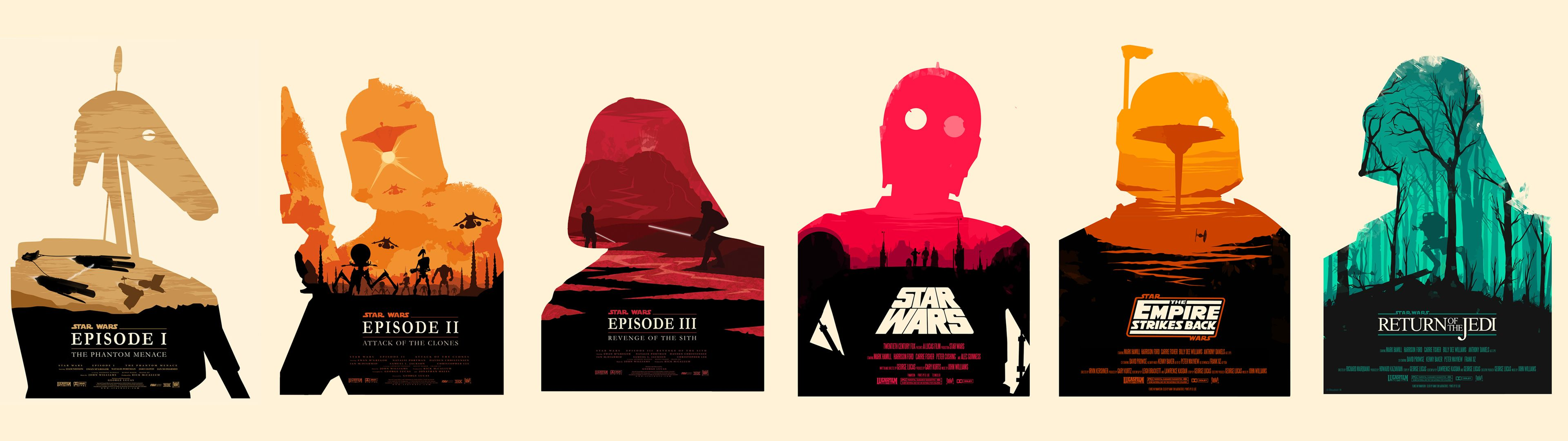 Dual Monitor Star Wars Posters 3840x1080 Star Wars Poster