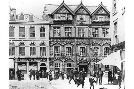 Red Lion Hotel In Boscawen Street Truro Cornwall Historic Google Search