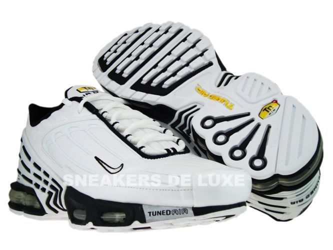 af39acaede3ad Nike Air Max Plus TN III 3 WhiteBlack 604201-111