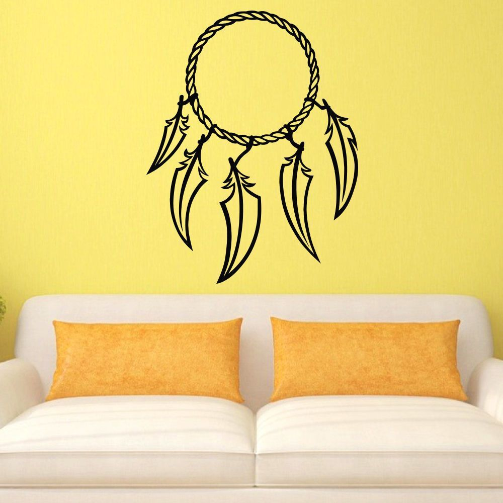 Feathered Dreamcatcher Vinyl Wall Art Decal Sticker | Products ...