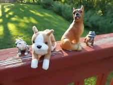 Pitbull Stuffed Animals For Sale Boxer Dog Puppy Collectibles