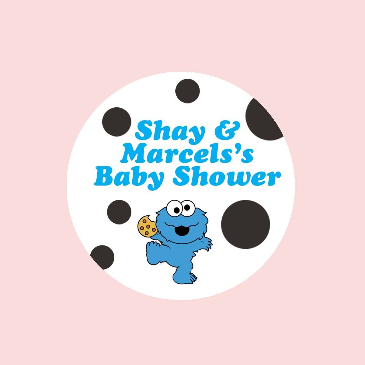 Cookie Monster Baby Shower Invitation | Products