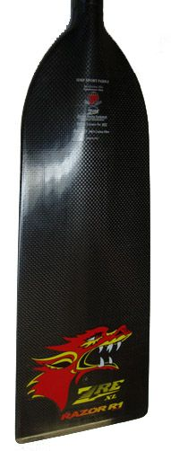 ZRE Razor R1 Carbon Fiber Dragon Boat Paddle