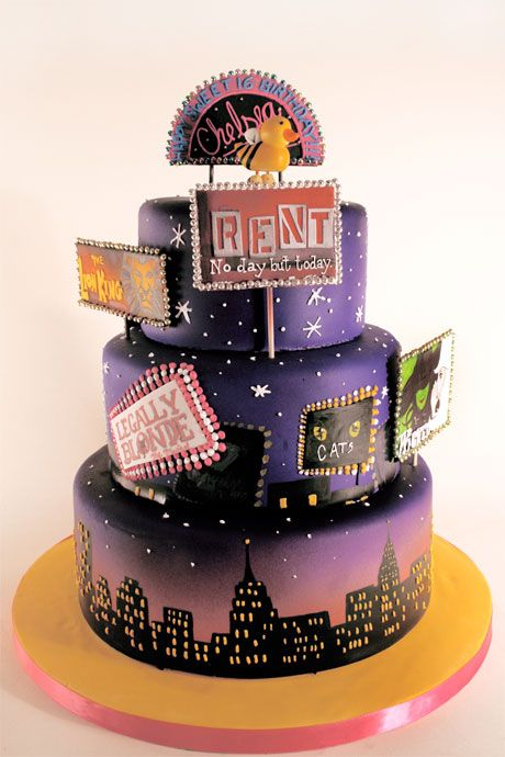Broadway cake Charm City Cakes I just LOVE this Cakes I