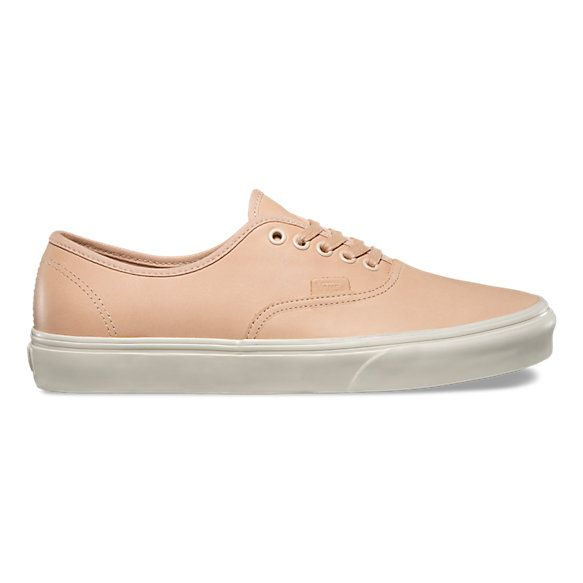 The Veggie Tan Leather Authentic DX combines the original and now iconic Vans  low top style