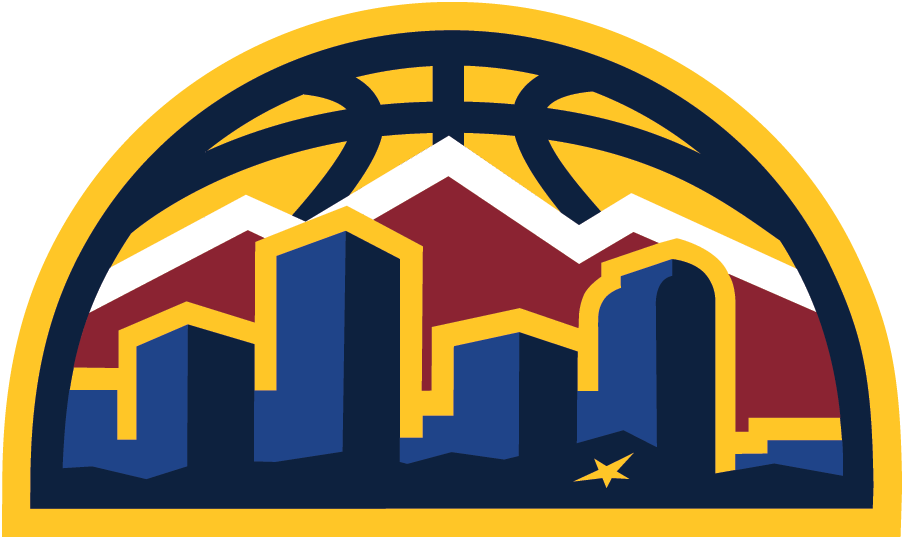 reputable site fc40d 84d88 Denver Nuggets Alternate Logo (2018/19-Pres) - Denver ...