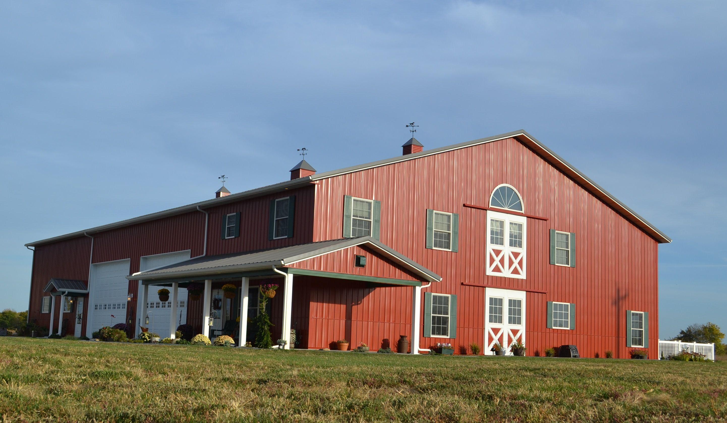 new barn homes